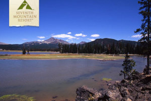 Beautiful Lake Views at Seventh Mountain Resort