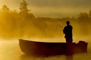 Fishing at Olive the Lake.
