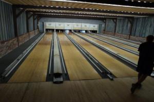 Bowling alley at Winter Clove Inn.