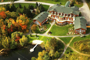 Aerial view of Spa Eastman Health & Wellness Retreat.