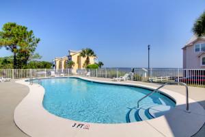 Outdoor pool at Vacation Homes Perdido Key.