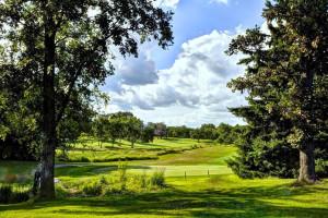 Golf course near Holiday Inn Minneapolis.