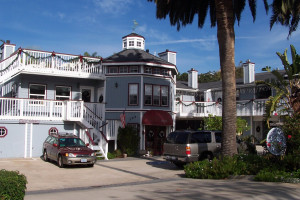 Exterior view of Pelican Cove Inn Bed & Breakfast.