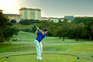 Golf course at Omni Barton Creek Resort & Spa.