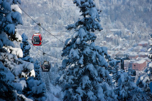 Skiing at Frias Properties of Aspen.