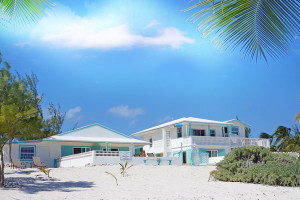 Exterior view of Cayman Brac Beach Villas.