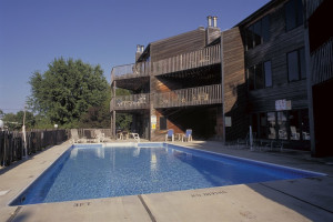 Outdoor pool at West Oaks Resort & Condominiums.