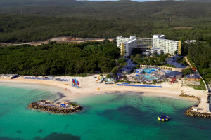 Aerial view of Starfish Trelawny Beach and Fun Resort.