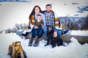 Family at The Bella Vista Estate.