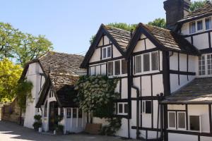 Exterior view of Ockenden Manor.