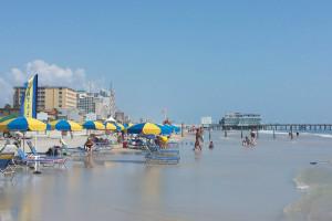 The beach at Fountain Beach Resort.