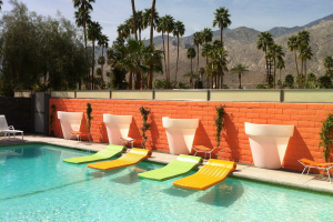 Outdoor pool at Century Palm Springs.