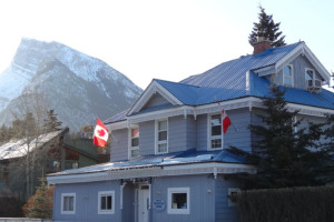Exterior view of Blue Mountain Lodge.