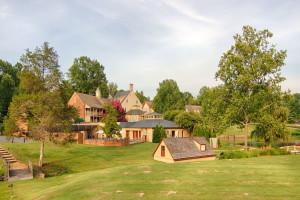 Exterior view of Boar's Head Resort.