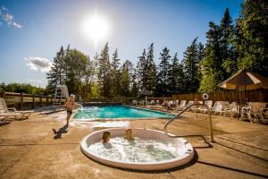 Resort pool at Kabetogama Lake Association.