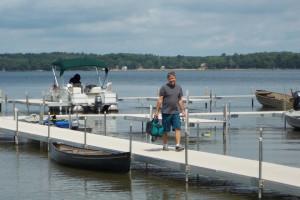 Dock view at Good Ol' Days Resort.