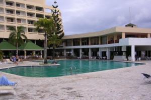 Exterior view of Berjaya Mahe Beach Resort.