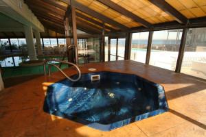 Indoor whirlpool at Virginia Beach Resort Hotel.