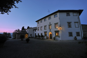 Exterior view of Villa Campestri.