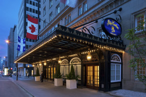 Exterior view of Ritz Carlton Montreal.