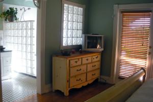 Guest room at Keywest Harbor Inn.