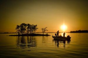 Fishing at Kabetogama Lake Association.