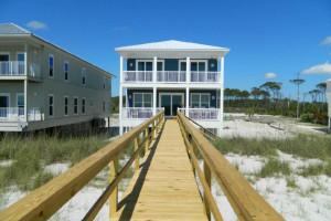 Vacation rental exterior at Teresa's Beach Vacation Rental Homes.