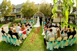 Wedding Ceremony at Santa Ynez Inn