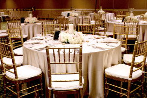 Wedding reception at Lancaster DoubleTree Resort by Hilton.