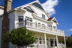 Villa exterior at Blue Harbor Resort and Spa.