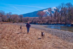 River at 7 Point Ranch.
