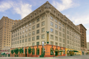 Exterior view of Hotel Monaco San Francisco.