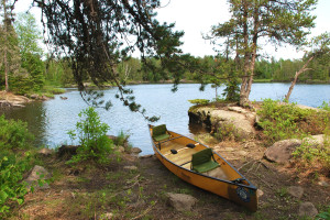 Canoe rental at River Point Resort & Outfitting Co.