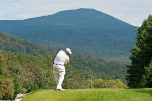 Enjoy a game of golf nearby at Lake Placid Vacation Homes.