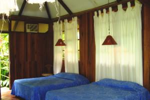 Guest room at El Mirador del Pacifico.