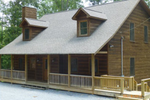 Rental Exterior at Mountain Memories Cabin Rentals