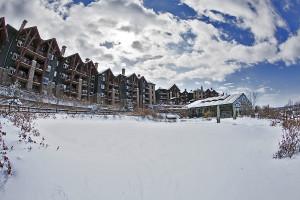 Exterior view of Crystal Springs Resort.