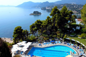 View from Corfu Holiday Palace.