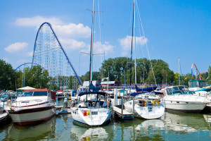 Marina at Cedar Point Resort.