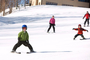 Skiing at Treetops Resort