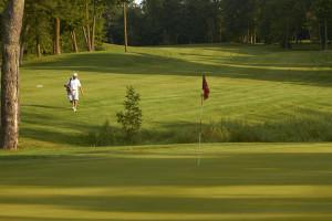 Golfing at Ruttger's Bay Lake Lodge.