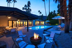 Vacation rental exterior at Vacation Palm Springs.