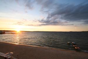 Sunrise at Bayshore Resort.
