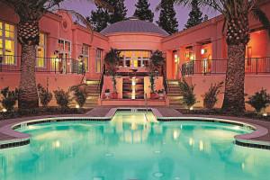 Spa pool at The Fairmont Sonoma Mission Inn & Spa.