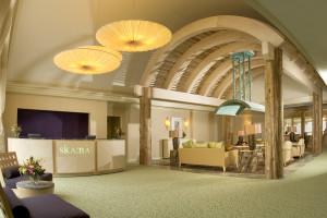 Spa Lobby at Turning Stone Resort Casino