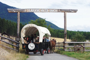Exterior view of Laughing Water Ranch.