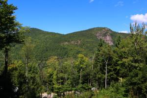 Mountain view at Attitash Mountain Village Resort.