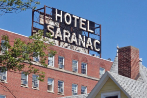 Welcome to The Hotel Saranac