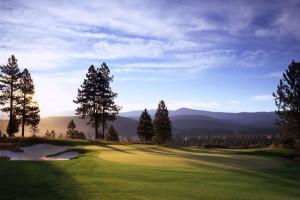 Old Greenwood golf course near Olympic Village Inn.