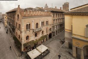Exterior view of Hotel Posta.